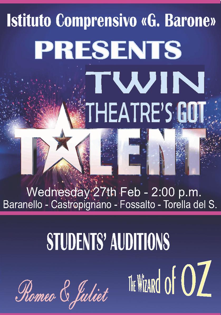 Twin Theatre's got Talent