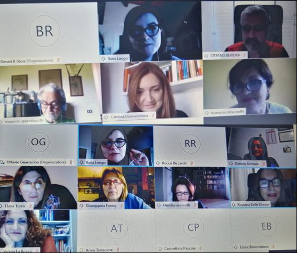 Incontro scuole partecipanti su Cisco weber per staffetta creativa bimed – Scuola primaria di Torella del Sannio