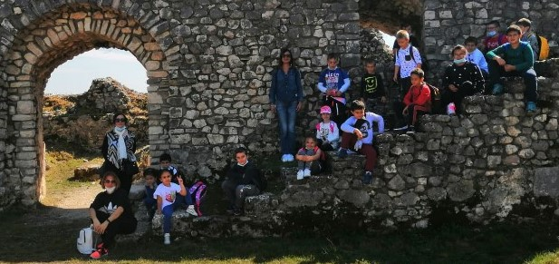 Scuola primaria di Busso – Uscita didattica a Civita di Bojano – Visita al borgo medievale e al castello Normanno