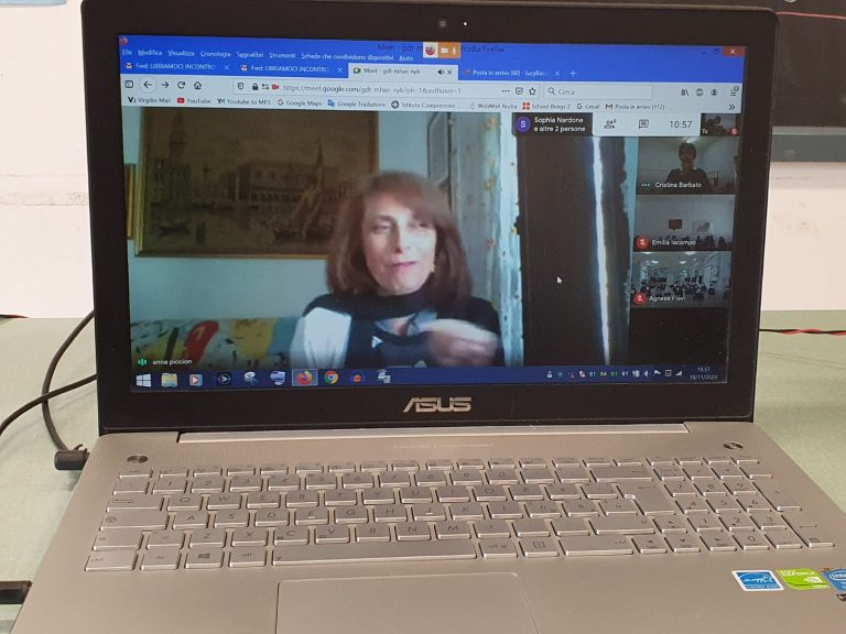 #io LEGGO perché – incontro online con l'autrice Annamaria Piccioni