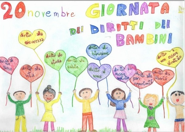 Giornata internazionale per i diritti dell' Infanzia e dell'Adolescenza – alunni di classe quarta della Scuola Primaria di Torella del Sannio