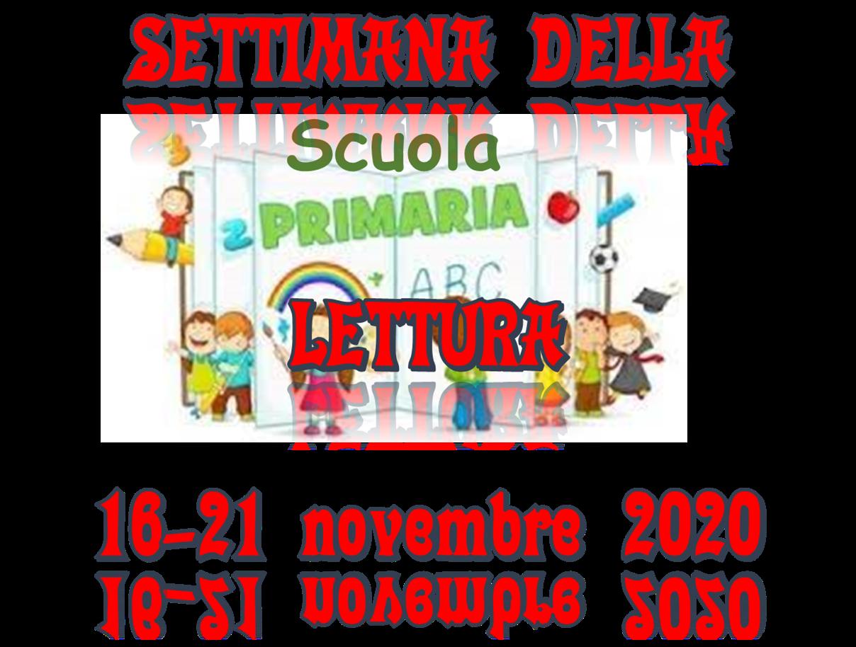 Settimana della lettura 16-21 novembre 2020 – Scuola Primaria di Castropignano
