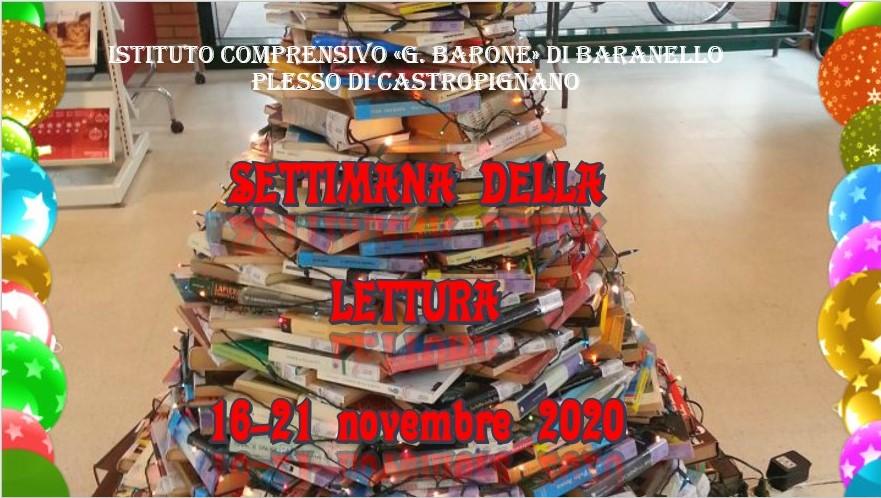 Settimana della lettura 16-22 novembre 2020 – Scuola dell'Infanzia di Castropignano