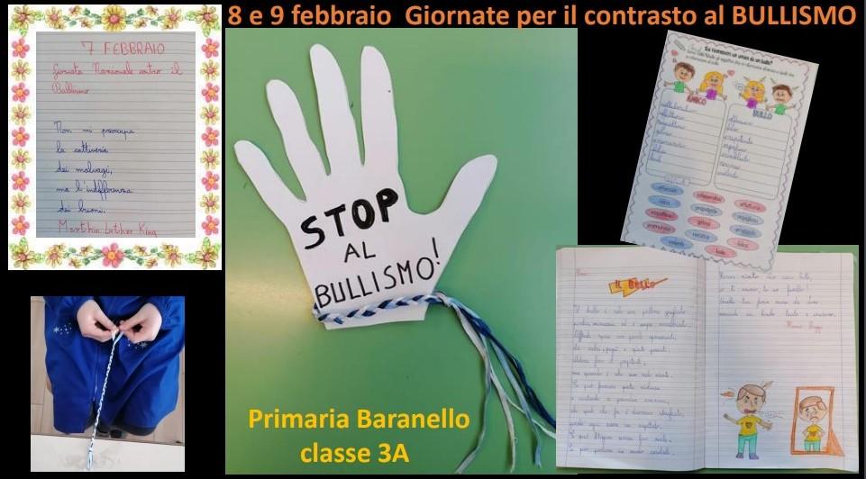 Giornata del Bullismo – Classe terza della Scuola Primaria di Baranello