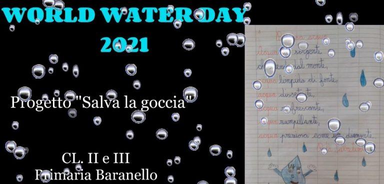 World water day – Classi seconda e terza della Scuola Primaria di Baranello